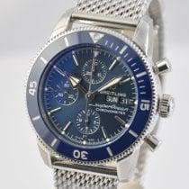 Breitling Superocean Héritage II Chronographe Steel 44mm Blue No numerals United States of America, Ohio, Mason