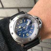 Panerai Luminor Submersible Steel 44mm Blue Arabic numerals Australia, Millers Point NSW