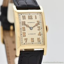 Tiffany Yellow gold 24mm Manual winding pre-owned United States of America, California, Beverly Hills