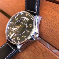 Hamilton Khaki Pilot Day Date Acier 42mm Noir Arabes
