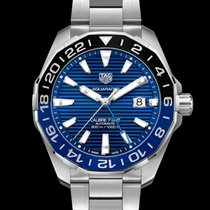TAG Heuer Aquaracer 300M Staal 43mm Blauw Geen cijfers