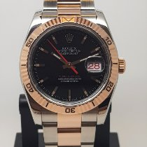 Rolex Datejust Turn-O-Graph Otel 36mm Negru Fara cifre