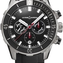 Ulysse Nardin Titanium Automatic Black 44mm new Diver Chronograph