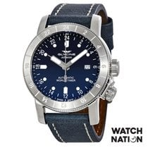Glycine Airman Steel 44mm Blue Singapore, Singapore