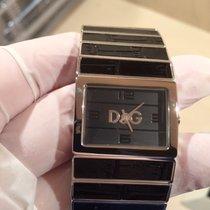 Dolce & Gabbana Stahl Quarz DW0080 neu