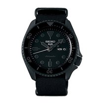 Seiko 5 Sports SEIKO 5 SPORTS AUTOMATIC NYLON BLACK SRPD79K1 MEN'S WATCH new