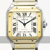 Cartier begagnad Automatisk 35.1mm Vit Safirglas 10 ATM