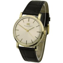IWC Yellow gold 33mm Manual winding 2400 pre-owned