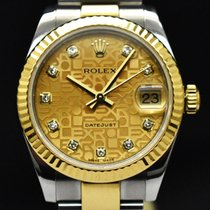 Rolex Lady-Datejust Or/Acier 31mm Champagne
