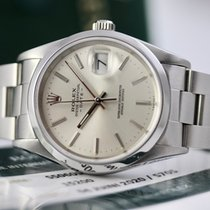 Rolex Oyster Perpetual Date Acier 34mm Argent Sans chiffres France, Cannes