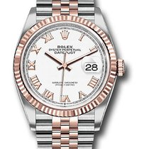 Rolex Datejust Gold/Steel 36mm White United States of America, New York, NY