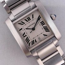Cartier Tank Française Steel 28mm Silver Roman numerals United States of America, Michigan, Warren