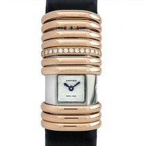 Cartier Titan Quarz Silber Keine Ziffern 18mm gebraucht