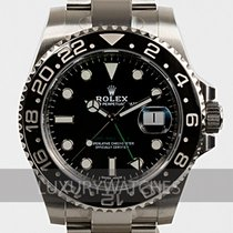 Rolex Cerámica Automático Negro Sin cifras 40mm usados GMT-Master II