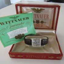 Wittnauer Weißgold Handaufzug 25mm gebraucht