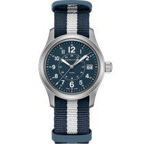 Hamilton Khaki Field new 2019 Quartz Watch with original box and original papers H68201043