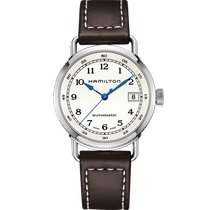 Hamilton Khaki Navy Pioneer Steel 37mm Silver Arabic numerals United States of America, Massachusetts, Boston