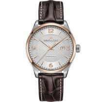 Hamilton Jazzmaster Viewmatic Steel 44mm Silver Arabic numerals United States of America, Massachusetts, Boston