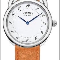 Hermès Acier 36mm Quartz 042946ww00 nouveau