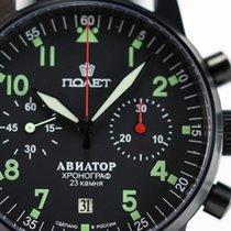 Poljot Chronograph 3133 Aviator watch Pilot watch Vintage watch 2014 новые