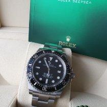 Rolex Sea-Dweller 4000 Ocel Černá Bez čísel