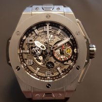 Hublot Big Bang Ferrari Titanium Transparent Arabic numerals