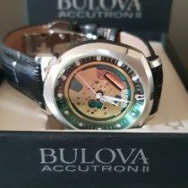 Bulova Accutron II Stahl 42mm Grün