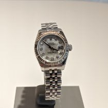 Rolex Lady-Datejust Stal 26mm Masa perłowa