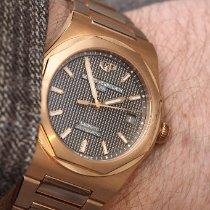 Girard Perregaux Laureato Or rose 38mm Argent France, Cannes