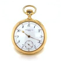 Patek Philippe Pocket Watch Good Yellow gold Manual winding