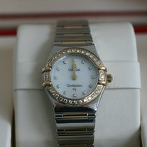 Omega Montre femme Constellation Quartz occasion Montre avec coffret d'origine 2006