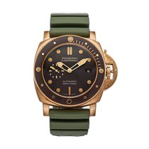 Panerai Luminor Submersible Bronze 47mm Brown No numerals