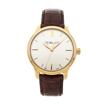 H.Moser & Cie. Endeavour Rose gold 40.8mm Silver No numerals