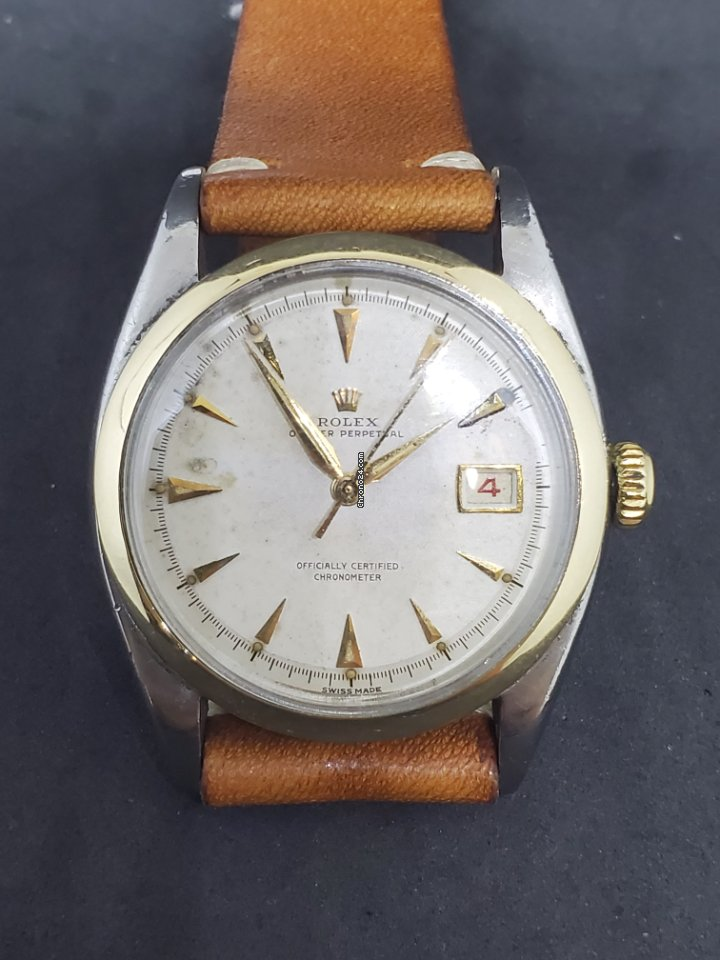 Rolex Datejust 6075 1950 pre-owned