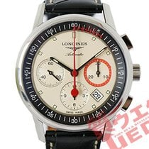 Longines Column-Wheel Chronograph Steel 40mm White