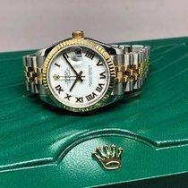 Rolex Lady-Datejust Gold/Steel 31mm White Thailand, Bangkok