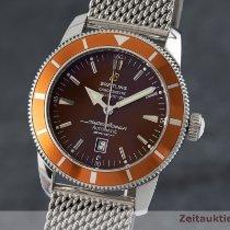Breitling Superocean Héritage 46 Acier 46mm Brun