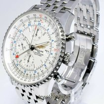 Breitling Navitimer World Steel 46mm Silver United States of America, Florida, 33431