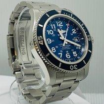 Breitling Superocean II 44 Acero 44mm Azul Arábigos