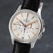 Zenith Captain Chronograph Acero 42mm Plata