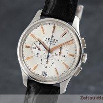 Zenith Captain Chronograph Stahl 42mm Silber Deutschland, Chemnitz