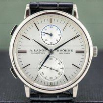 A. Lange & Söhne Saxonia White gold 40mm Silver United States of America, Massachusetts, Boston