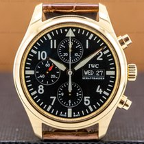 IWC Pilot Chronograph Rose gold 42mm Arabic numerals United States of America, Massachusetts, Boston