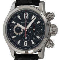 Jaeger-LeCoultre Steel Automatic Black 41mm pre-owned Master Compressor Chronograph 2