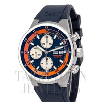 IWC Aquatimer Chronograph Acero 44mm Azul
