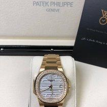 Patek Philippe Nautilus Rose gold 32mm White