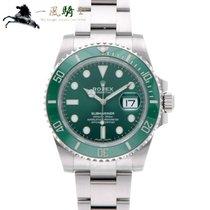 Rolex Submariner Date Acciaio 40mm Verde