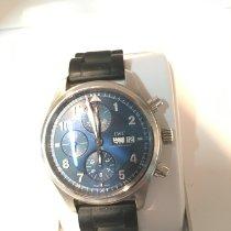 IWC Pilot Chronograph Acero 42mm Azul Arábigos España, valencia