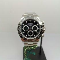 Rolex Daytona Acero 40mm Negro Sin cifras