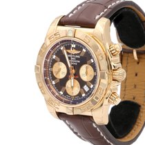 Breitling Chronomat 44 Ruzicasto zlato 44mm Smedj Bez brojeva